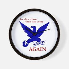 New Deal Eagle Wall Clock