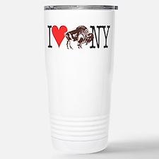 Love Buffalo Travel Mug