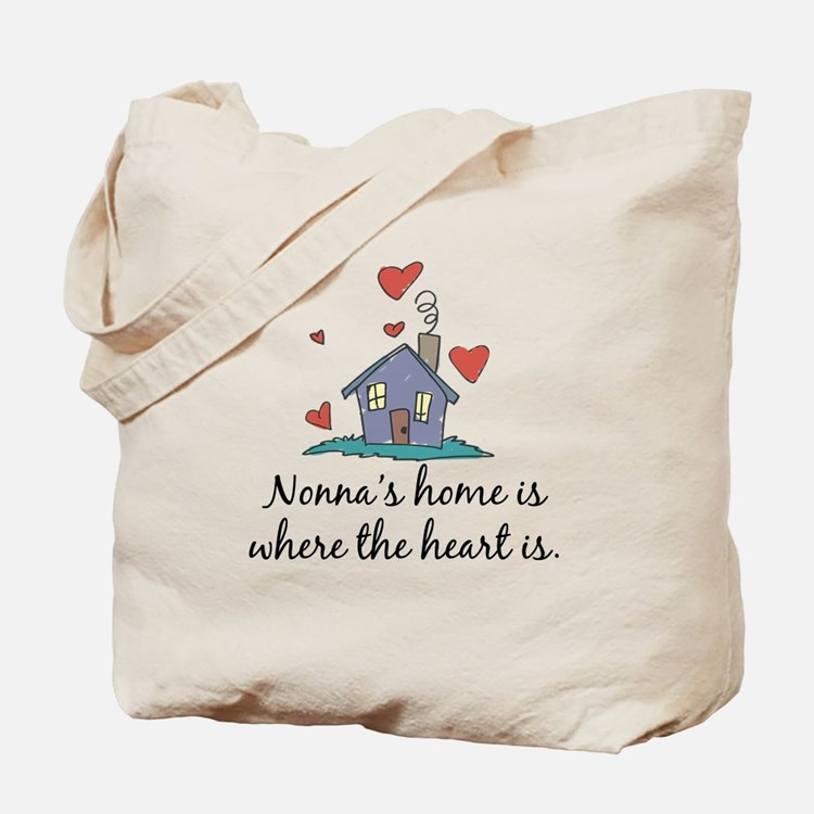 Nonna's Home is Where the Heart Is Tote Bag