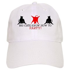 BIG CATS KNOW HOW TO PARTY EV Baseball Cap