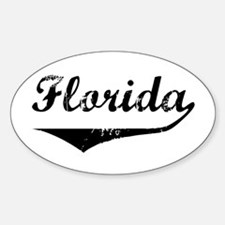 Florida Oval Decal