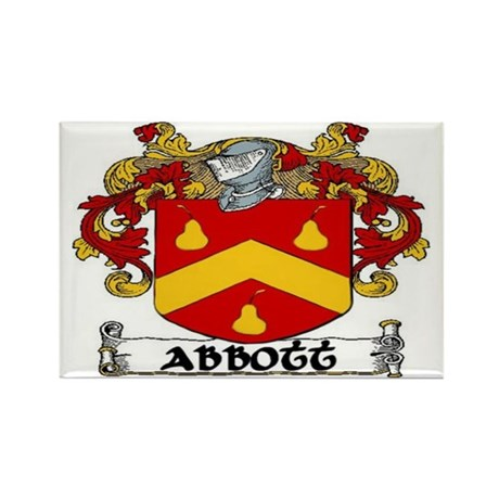 Abbott Coat of Arms Rectangle Magnet (10 pack)
