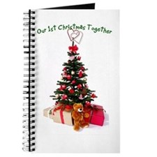 Our 1st Christmas Together Journal