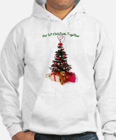 Our 1st Christmas Together Hoodie