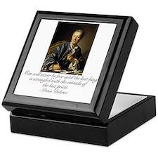 Denis Diderot Keepsake Box