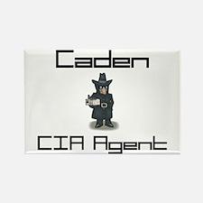 Caden - CIA Agent Rectangle Magnet