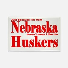 Nebraska Huskers Rectangle Magnet