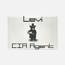 Levi - CIA Agent Rectangle Magnet