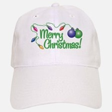 MERRY CHRISTMAS! (Lights) Baseball Baseball Cap