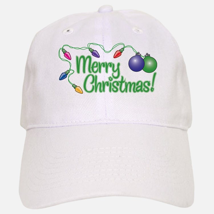 MERRY CHRISTMAS! (Lights) Cap