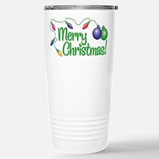 MERRY CHRISTMAS! (Lights) Travel Mug