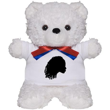 Woman with Dreds Teddy Bear