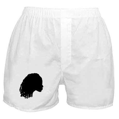 Woman with Dreds Boxer Shorts