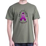 Pancreatic Cancer Survivor Dark T-Shirt