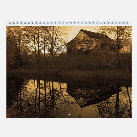 Antique Country Wall Calendar