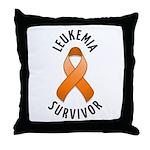 Leukemia Survivor Throw Pillow