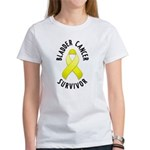 Bladder Cancer Survivor Women's T-Shirt