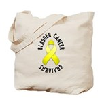 Bladder Cancer Survivor Tote Bag