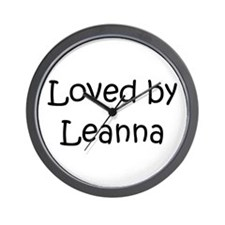 Cute Leanna Wall Clock