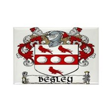 Begley Coat of Arms Rectangle Magnet (10 pack)