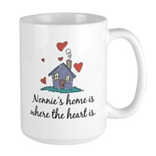 Nonnie's Home is Where the Heart Is Mug