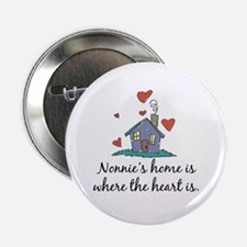 """Nonnie's Home is Where the Heart Is 2.25"""" Button"""
