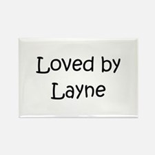 Cute Layne Rectangle Magnet