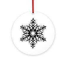Star Snowflake 2 Ornament (Round)