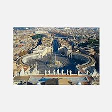 Rome Vatican Rectangle Magnet