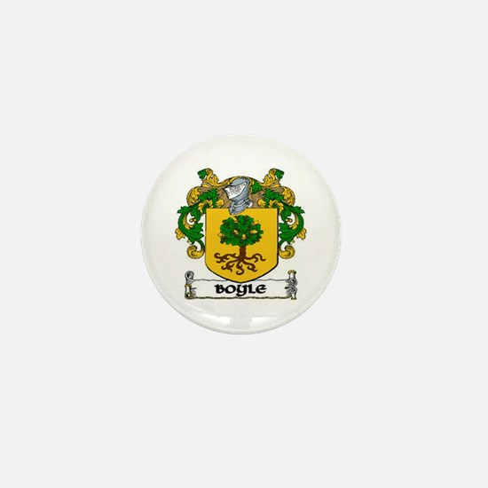 Boyle Coat of Arms Mini Button (10 pack)