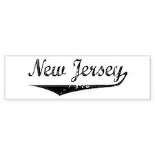 New Jersey Bumper Bumper Sticker