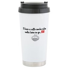 Cafe Mocha vodka valium Travel Mug