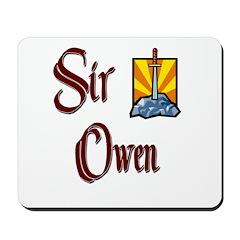 Sir Owen Mousepad