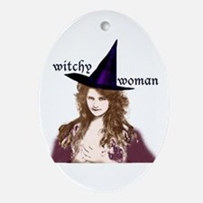 Witchy woman! Keepsake (Oval)
