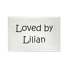 Cute Lilian Rectangle Magnet