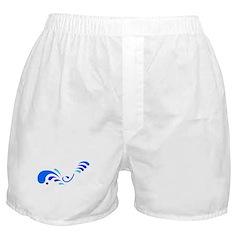 Blue Splashes Boxer Shorts