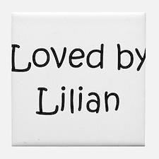 Lilian Tile Coaster