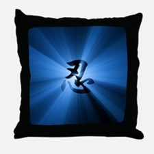 NIN Rays Throw Pillow