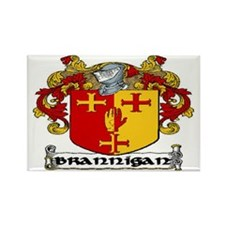 Brannigan Coat of Arms Rectangle Magnet (10 pack)