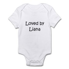Cute Liana's Infant Bodysuit