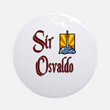 Sir Osvaldo Ornament (Round)