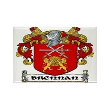 Brennan Coat of Arms Rectangle Magnet (10 pack)