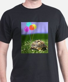 LEOPARD TORTOISE WITH BALLOONS T-Shirt