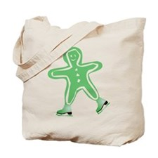 Holiday Skater Tote Bag
