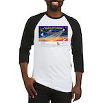 XmasSunrise/Corgi Pup Baseball Jersey