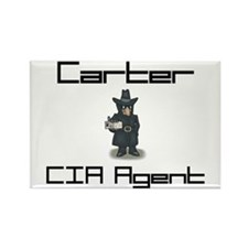 Carter - CIA Agent Rectangle Magnet
