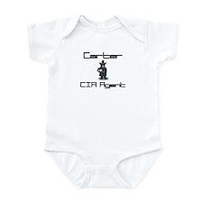 Carter - CIA Agent Infant Bodysuit