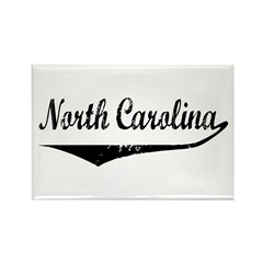 North Carolina Rectangle Magnet (100 pack)