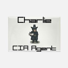 Charlie - CIA Agent Rectangle Magnet