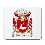 Brochwicz Family Crest Mousepad
